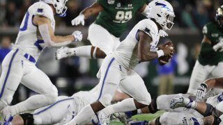 Hammond leads Air Force over Colorado State 38-21