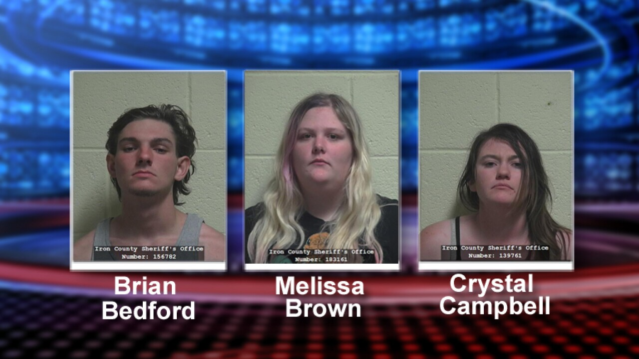 Four arrested in Cedar City after burglarizing cars, attempting to sell stolen goods