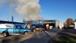 Alliance NAPA fire
