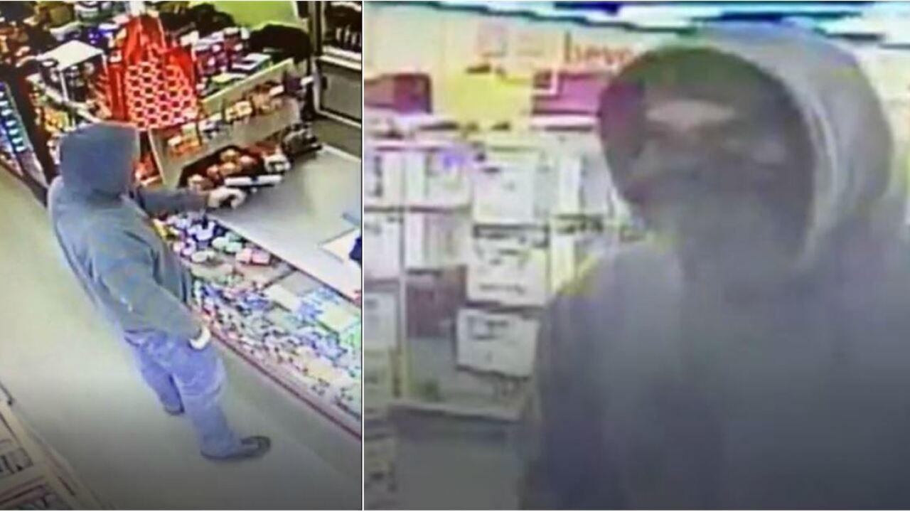 Gunman takes aim at Hopewell storeclerk