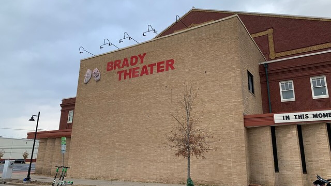 Brady Theater to be renamed 'Tulsa Theater'