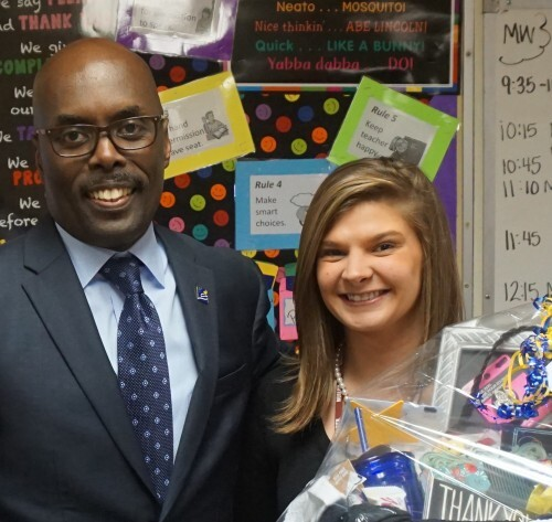 Photos: 20-year library media specialist wins 2016 City-Wide Teacher of the Year in Suffolk