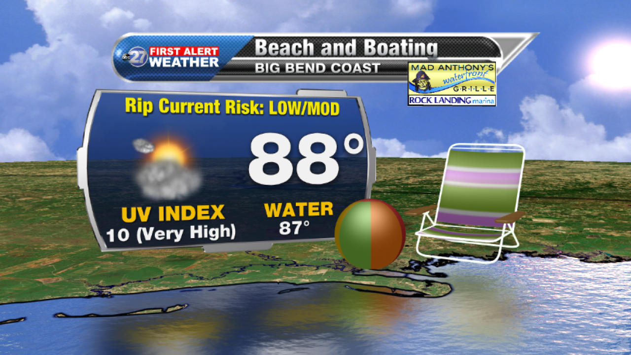 Beach and Boating forecast B (08/28/2017)