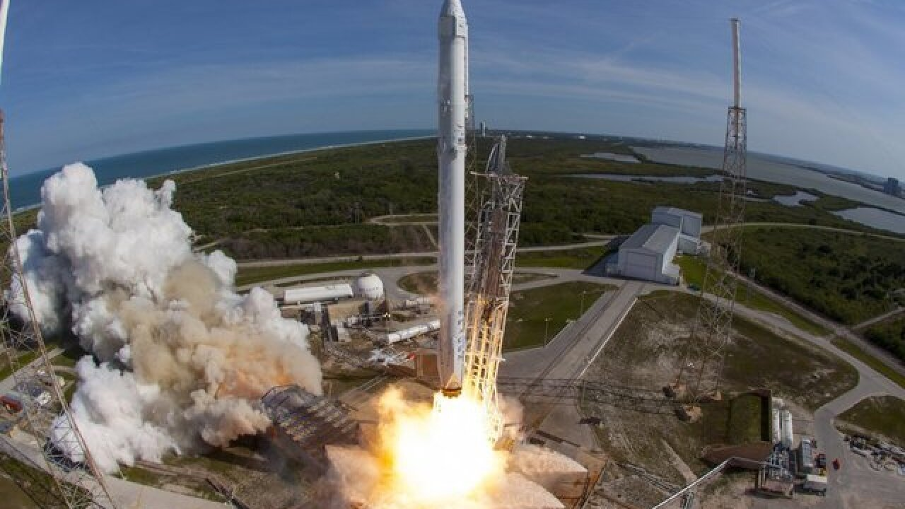 SpaceX rocket launch scheduled for 4:30 p.m.