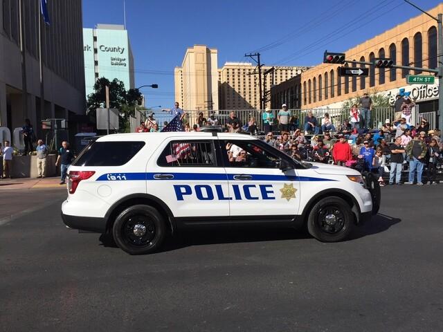 PHOTOS: Veterans Day 2017 parade in Downtown Las Vegas