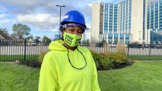 Jazzmeica Smith of Buffalo eventually wants to run her own trade business
