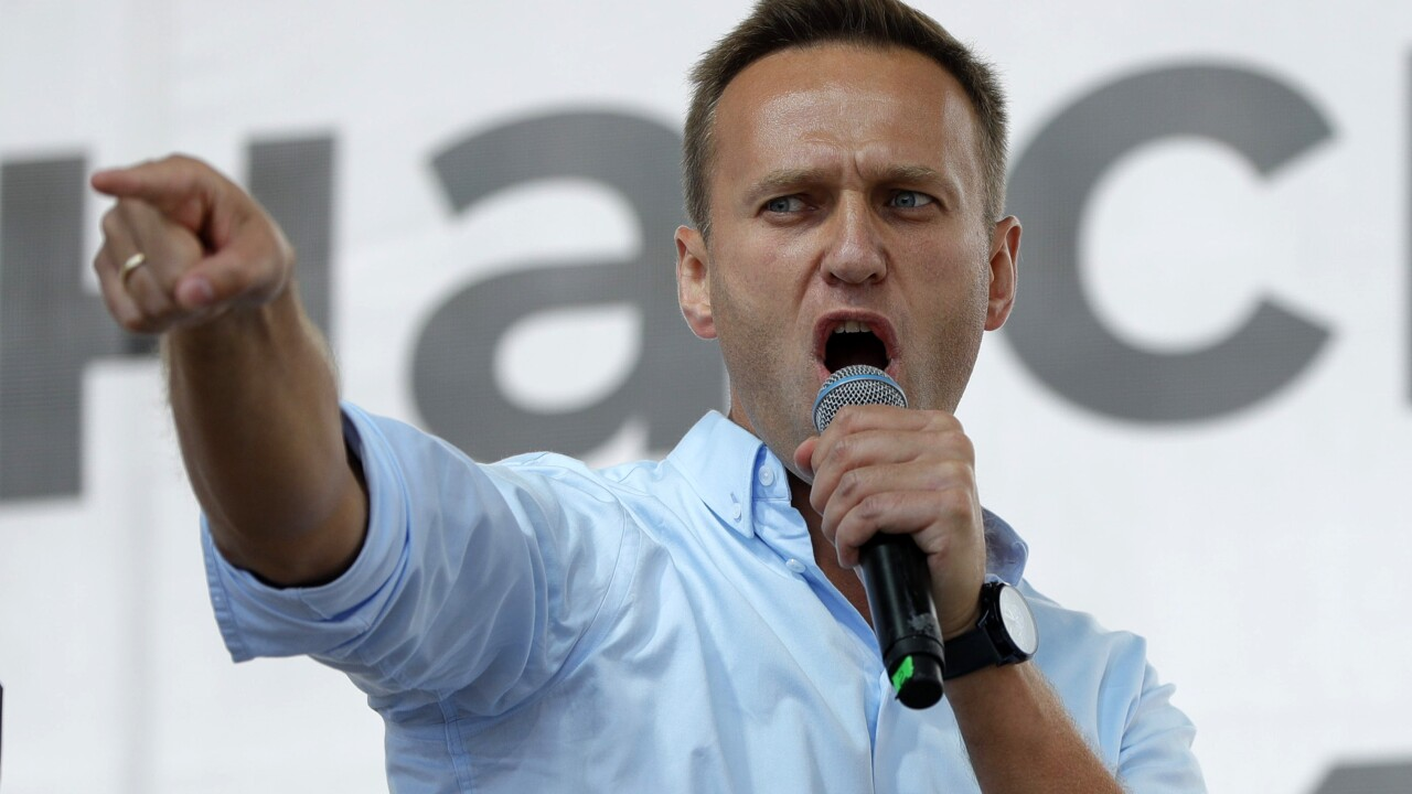 Hospital: Russia's Alexei Navalny out of coma, is responsive