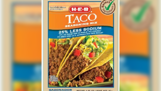 Walmart brand taco mix recalled over possible salmonella contamination