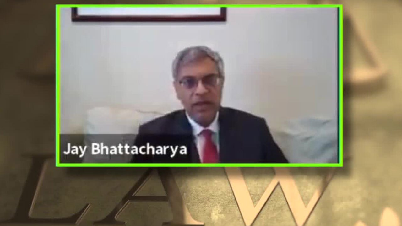 Stanford Medicine Professor Dr. Jay Bhattacharya testifies in anti-mask mandate hearing on Aug. 24, 2021