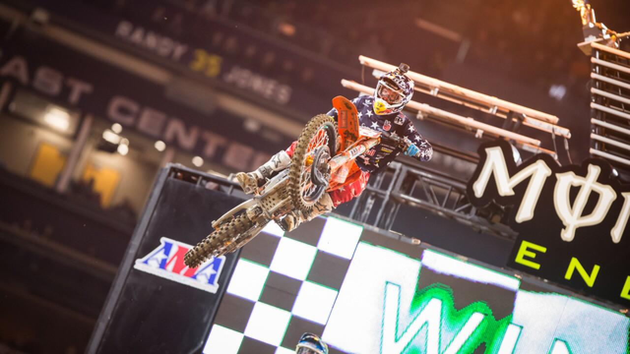 Supercross races into San Diego's Petco Park