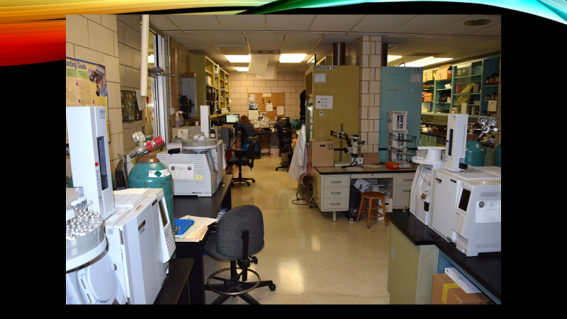The old Hamilton County crime lab