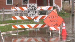 Flood Muskegon Co signs