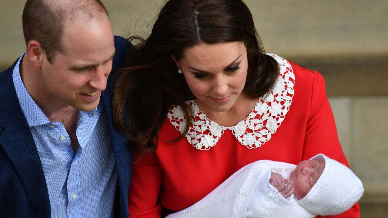 Prince Louis: Surprise choice for royal baby name