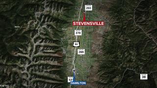 Stevensville Fatal Crash Map