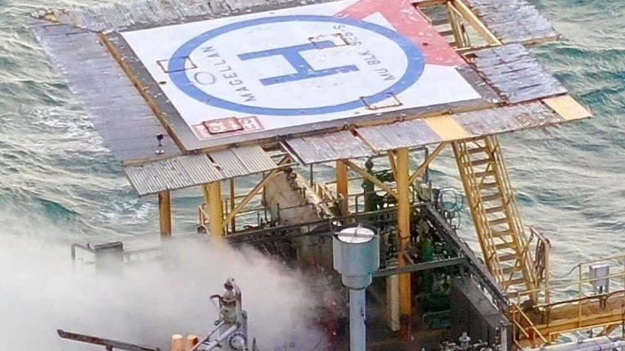 Coast Guard responds to platform natural gas release near Corpus Christi, Texas