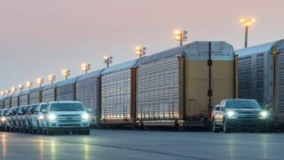 An Electric Ford Truck Towed More Than A Million Pounds