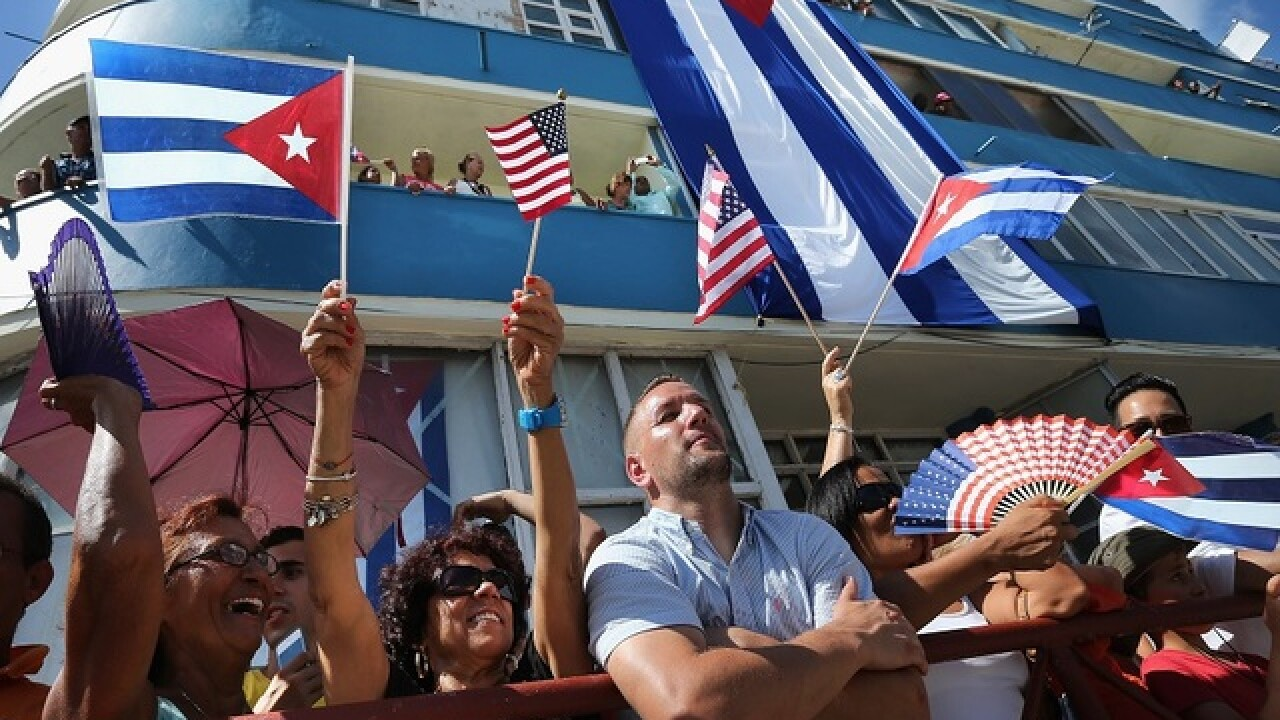 Ship returns to Miami after historic Cuba trip