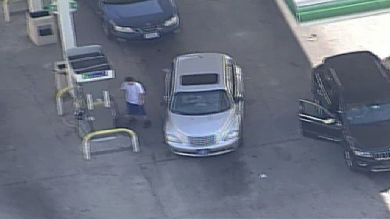 VIDEO: Suspects in custody following car chase