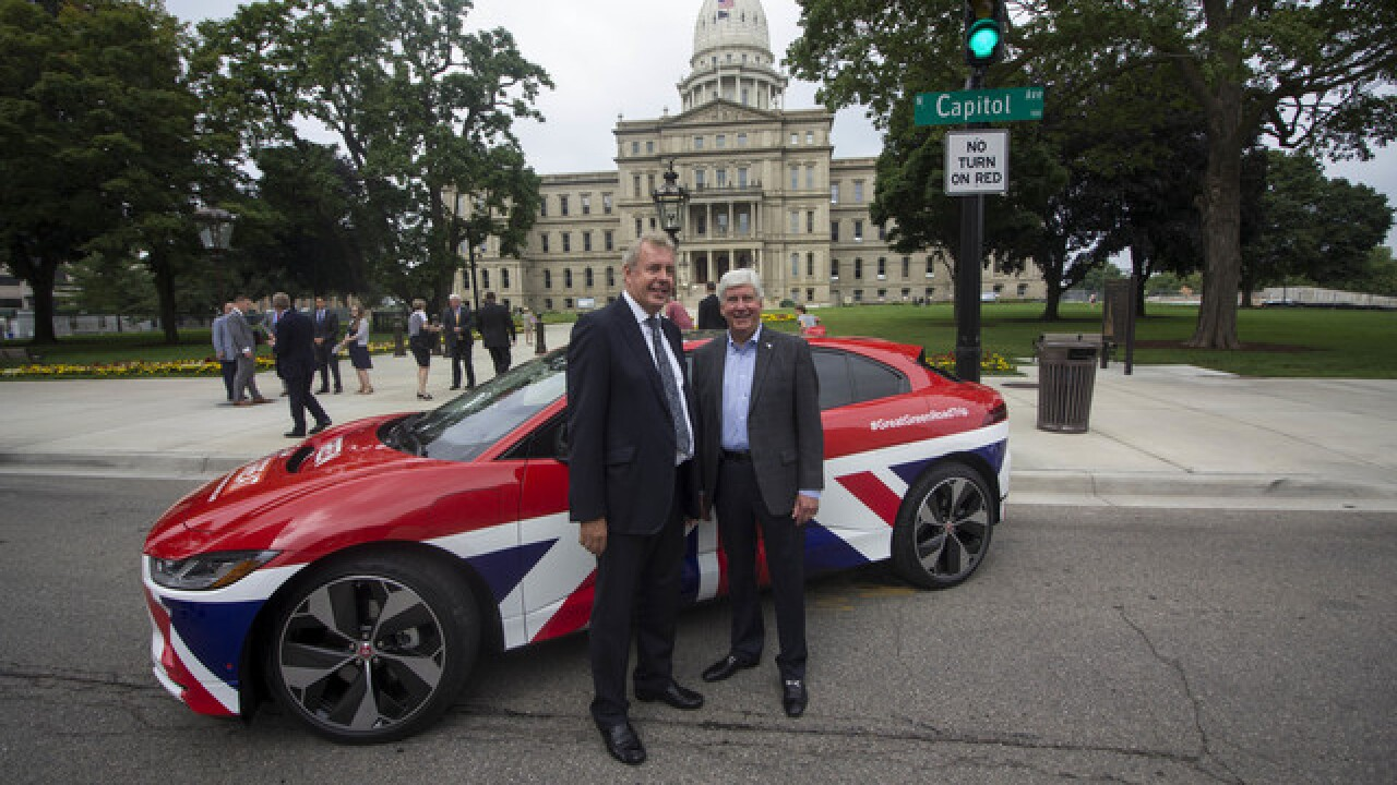 UK and Michigan Historic Partnership Unveiled