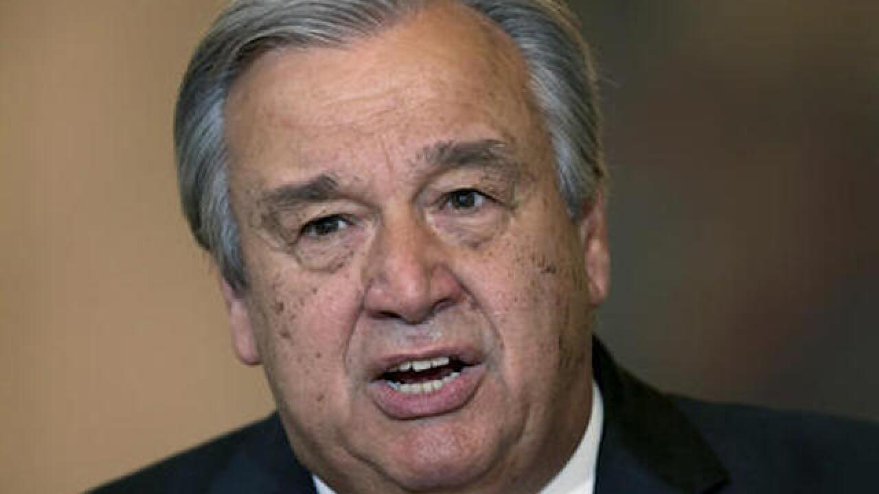 UN General Assembly elects Guterres as secretary-general