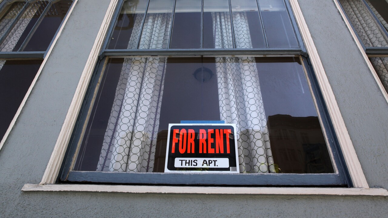Average rent in the United States is really high