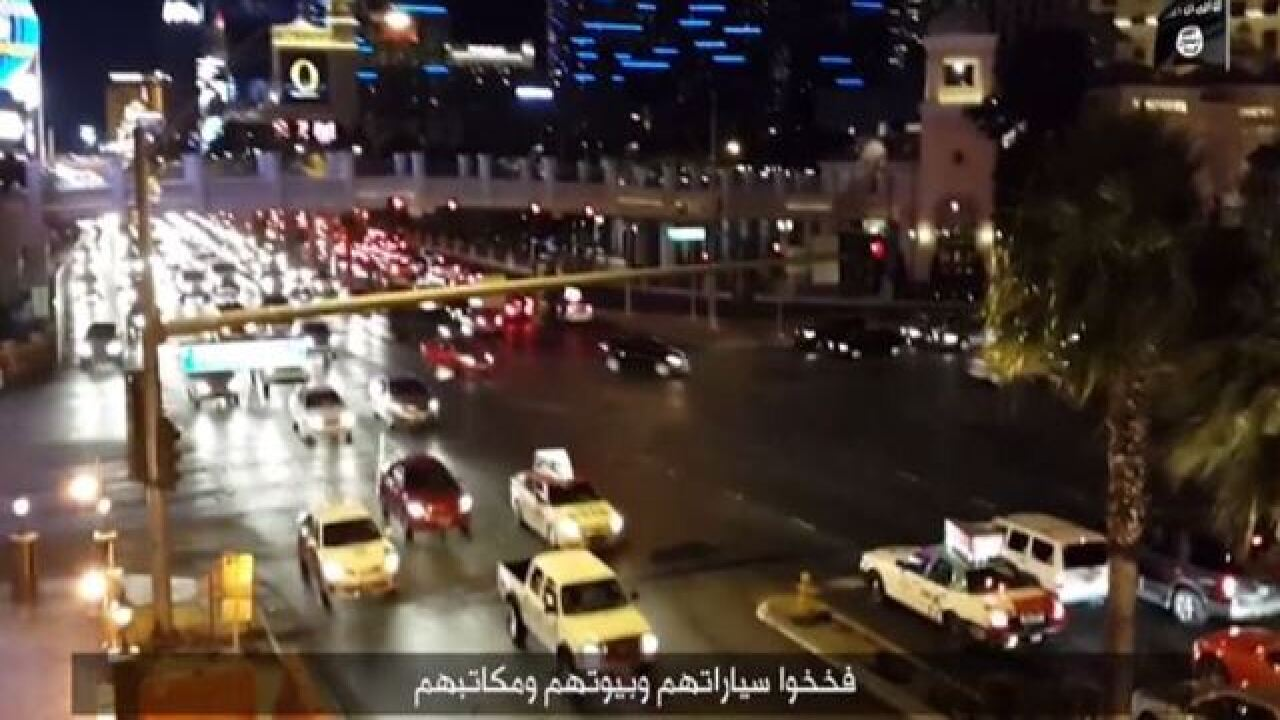 New ISIS video includes Las Vegas Strip footage