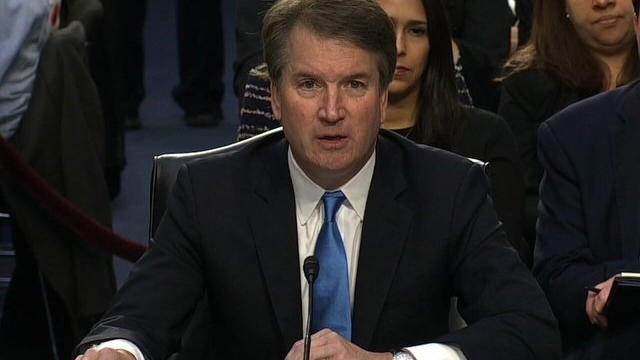 Kavanaugh: 'No one is above the law'