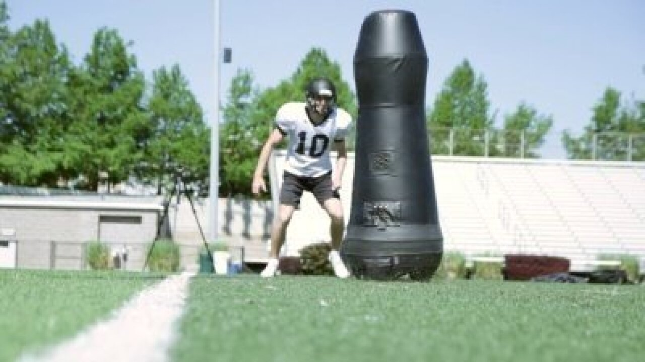 Tackle the Future: Robotic tackling dummies make football practice safer, more high-tech