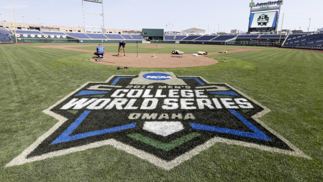College World Series Baseball
