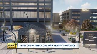 Phase one of Seneca One work nearing completion