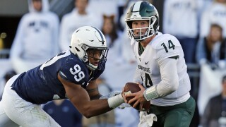 Michigan State hopes to hand No. 6 Penn State first loss
