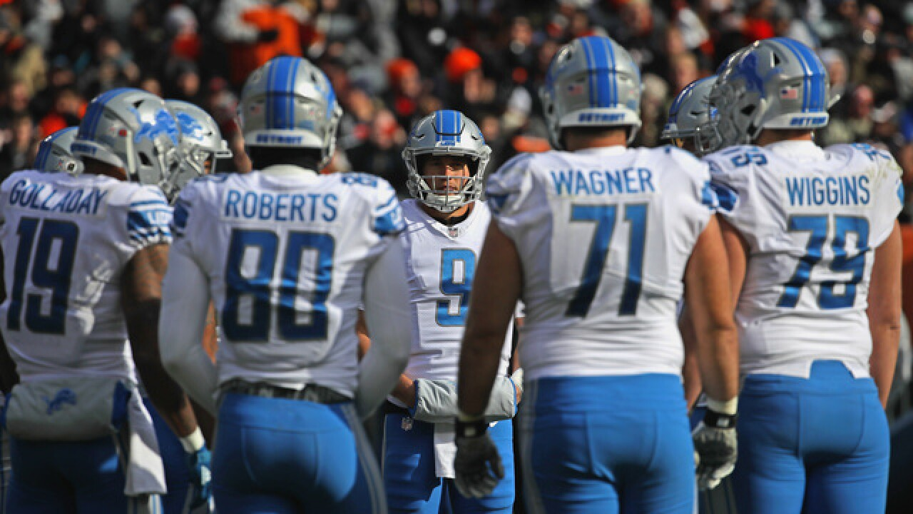 NFL Week 11 At a Glance: Panthers at Lions