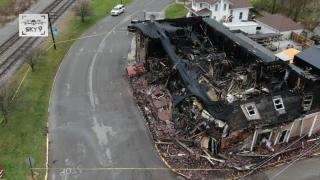 Hog Rock Cafe destroyed in fire Milan
