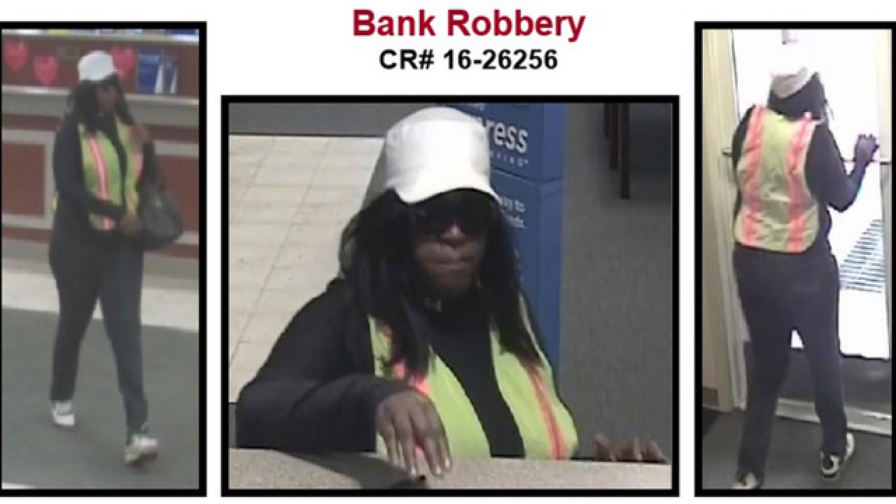 Ann Arbor police searching for bank robbery suspect