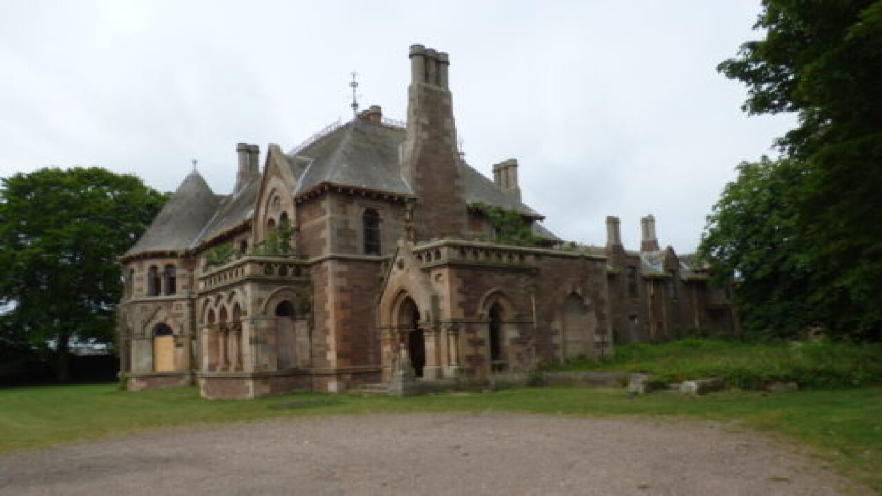 Scottish Mansion Is Up For Auction And Bids Started At $2
