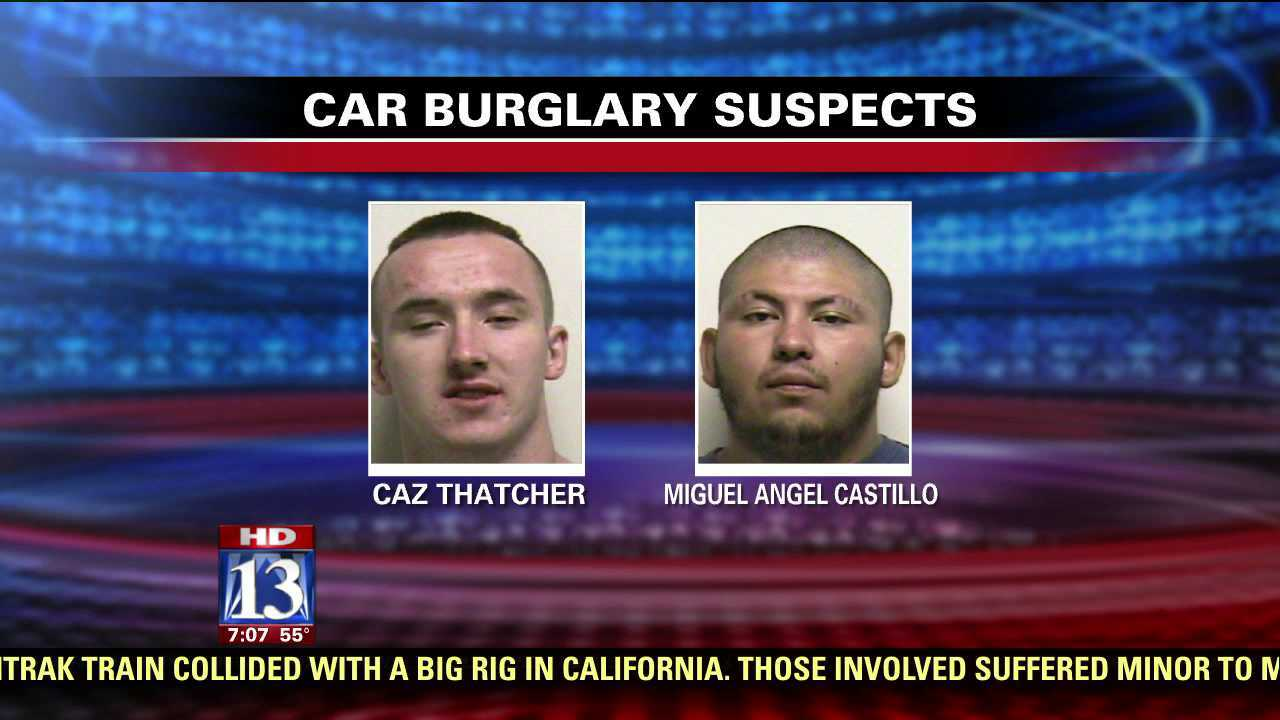 Provo Police arrest 5 suspects in burglary cases