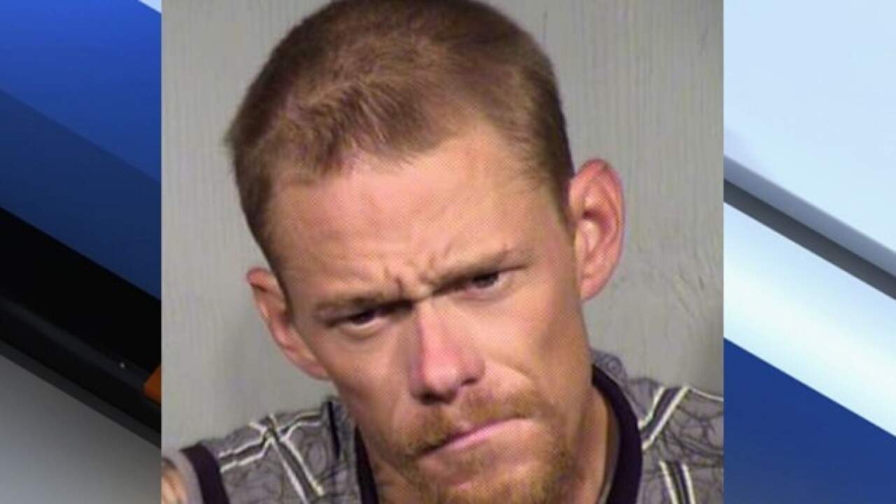 PD: Man arrested for multiple Valley burglaries