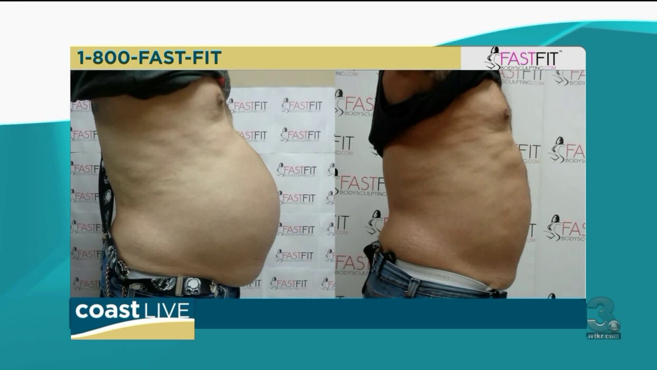 Using technology to target stubborn fat on Coast Live