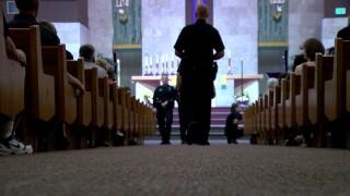 Hundreds gather at prayer vigil honoring fallen Boulder police officer Gordon Beesley
