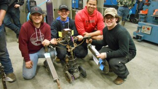 Helena and Capital High students compete in 8th Annual Weld-Off