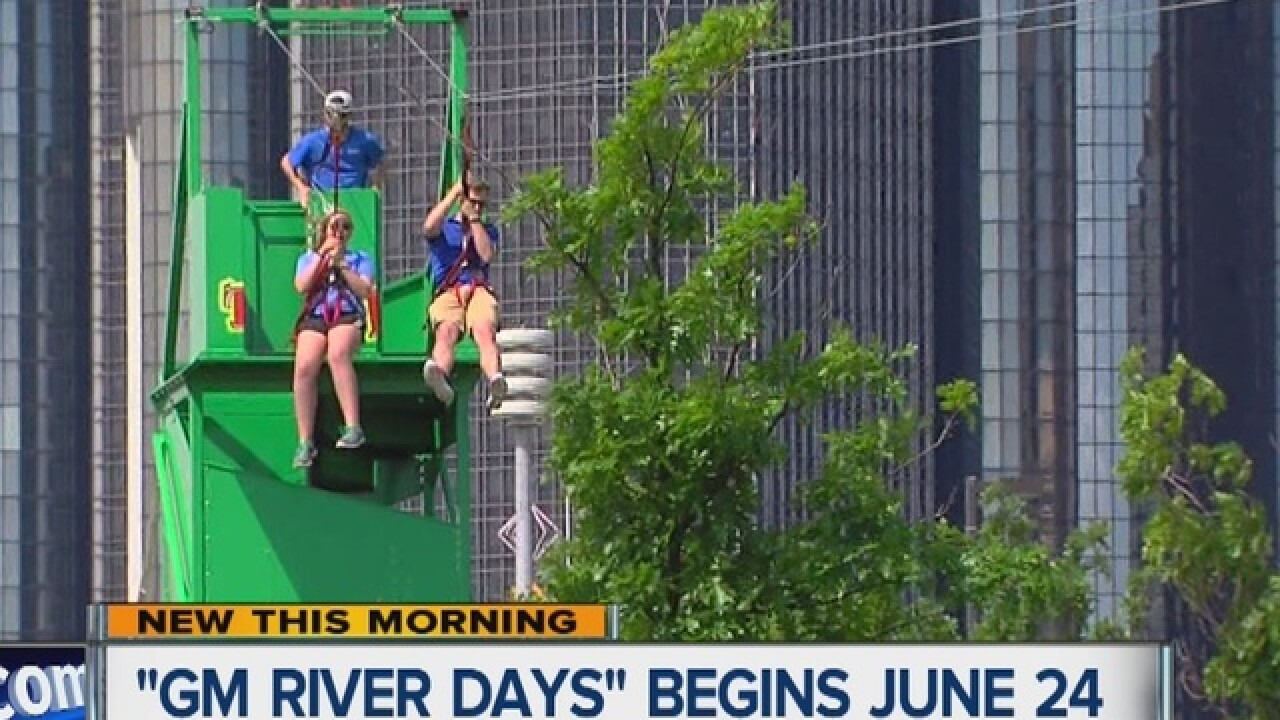 GM River Days gets underway on Friday
