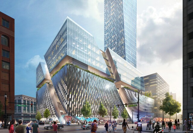 PHOTOS: Dan Gilbert's proposed building would be tallest in Detroit