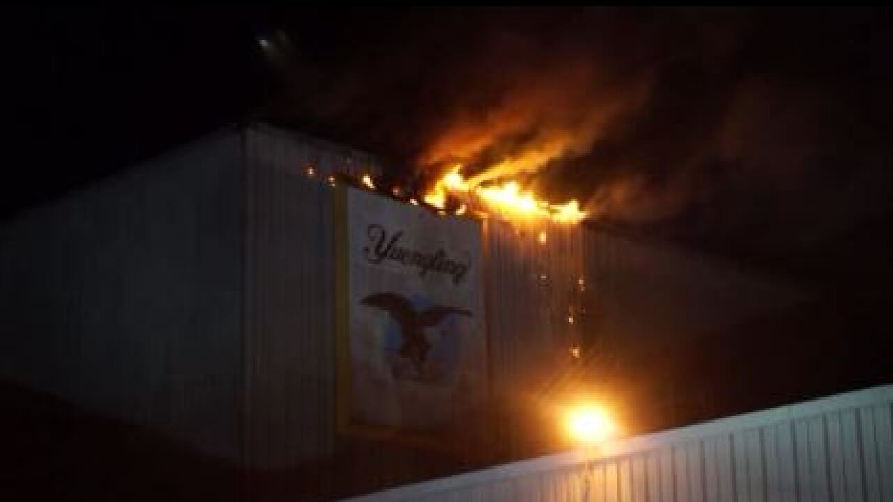 Fire damages Yuengling Brewery