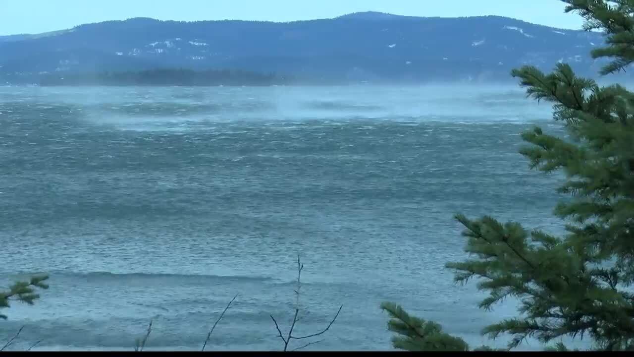 Flathead Lake Wave