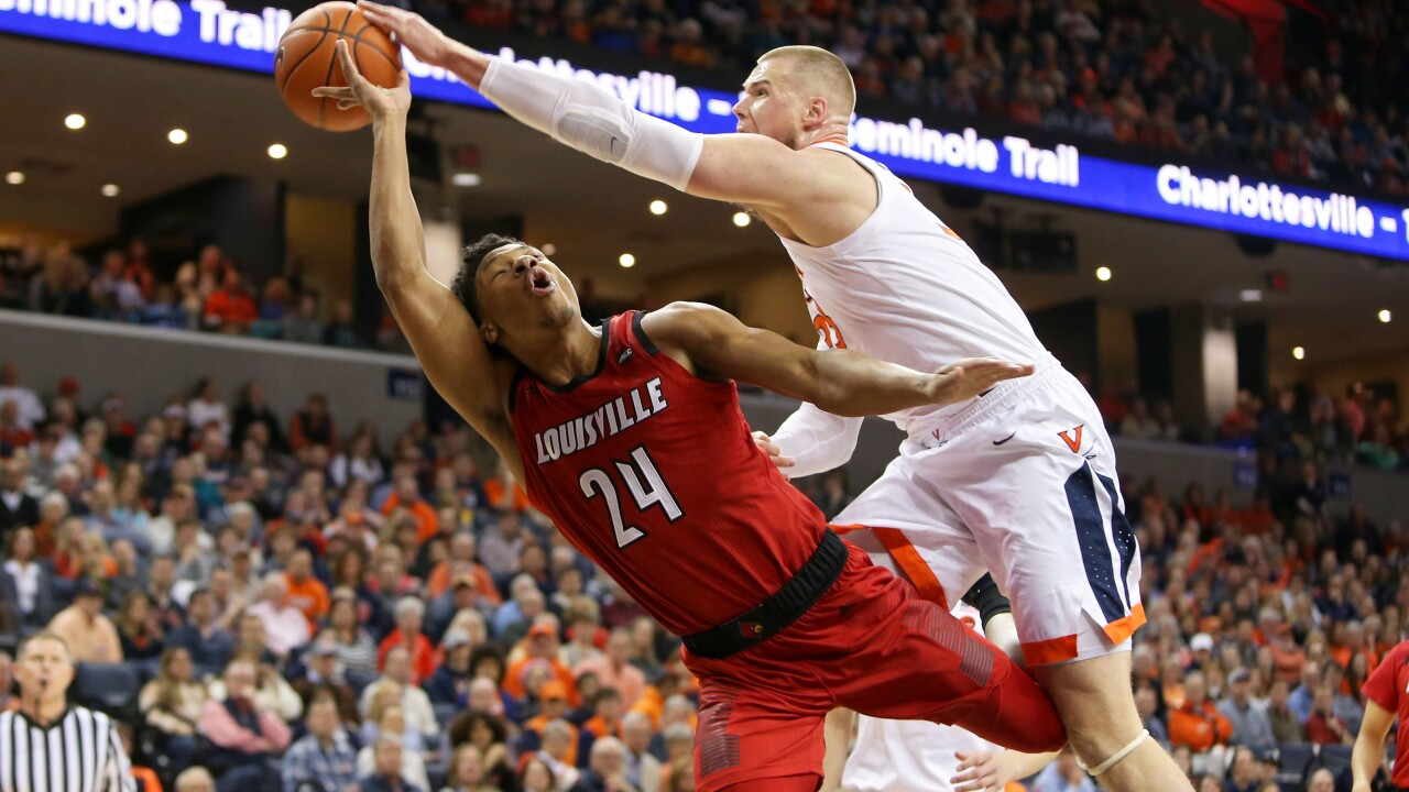 No. 2 Virginia rallies to beat Louisville and clinch No. 1 seed in ACCTournament