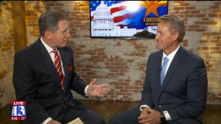 3 Questions with Bob Evans: Former Sen. Jeff Flake talks Mueller, Trump & Kavanaugh
