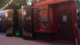 Texas family creates Harry Potter's Diagon Alley in their front yard after mother's battle with breast cancer