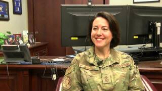 MAFB Command Chief's career comes full circle as she serves in Great Falls