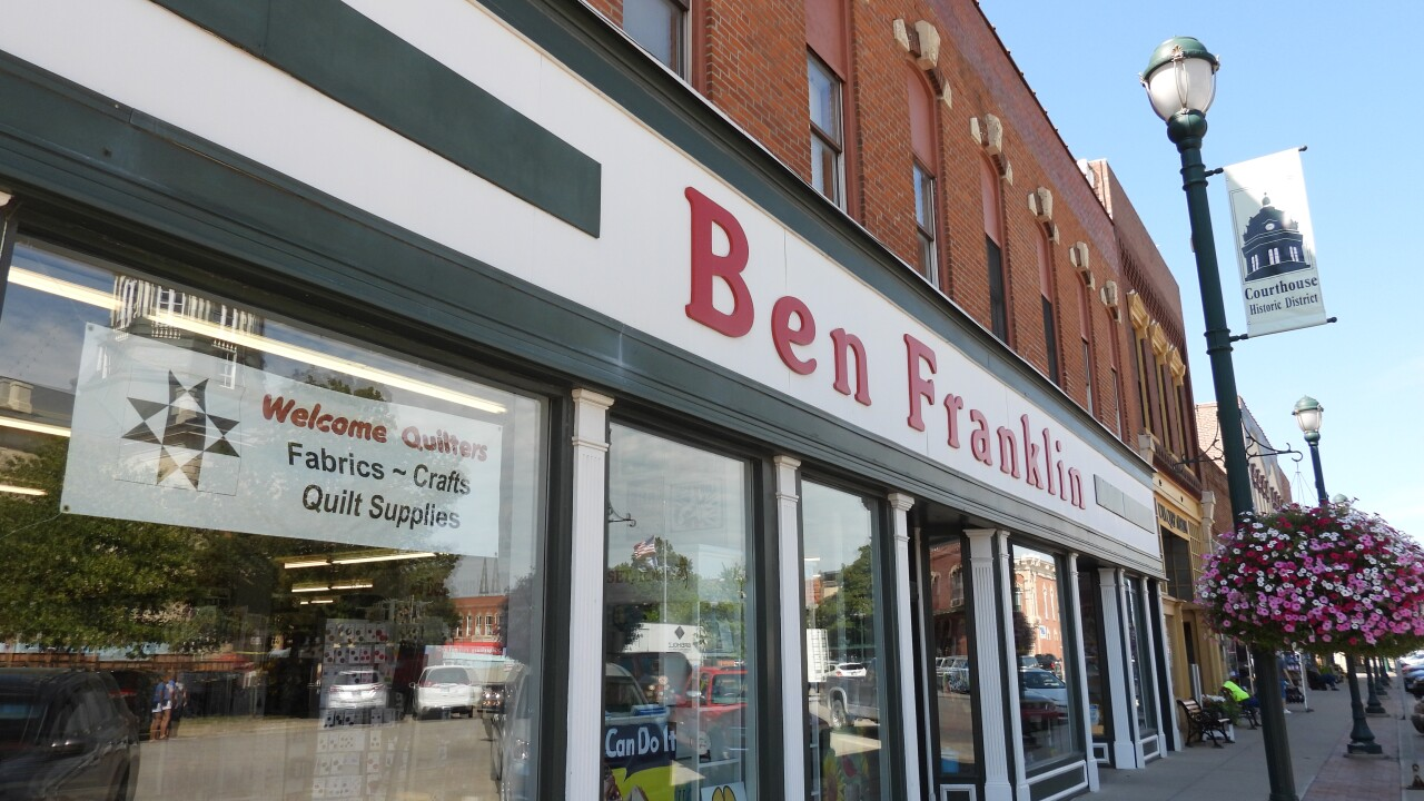 One of only 160 Ben Franklin stores left in the United States.JPG