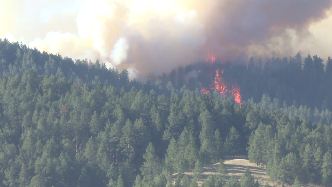 South Moccasin Fire in Fergus County